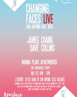Changing Faces Live San Antonio Bay, Ibiza