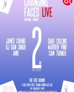 Changing Faces Live 2nd Birthday